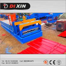 Máquina formadora de chapa de aço galvanizado e rolo de chapa de parede