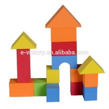 Bloco inteligente brinquedo ecológico EVA bloco de construção o brinquedo do filho