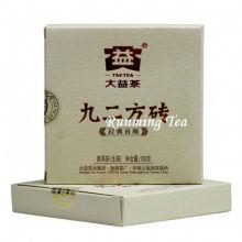 """2011 Dayi Fábrica """"Jiu Er Fang Zhuan"""" Raw Pu Er tijolo, 100 g / tijolo"""