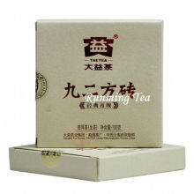"2011 Dayi Factory ""Jiu Er Fang Zhuan"" Сырье Pu Кирпич, 100 г / кирпич"