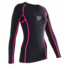 Active Full Sublimated Shirt Women Compression Wear