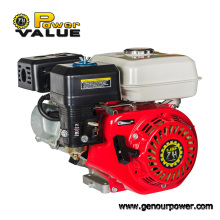 5.5HP 168f Motor de gasolina pequeño de gasolina de 4 tiempos Arranque con llave