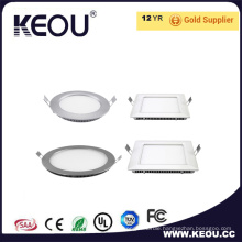 Ultra Thin High PF 0.9 High IP44 Panel LED Light of 3-24W Panel Light