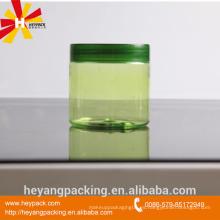 200ml de plástico PET cosméticos crema tarro de plástico vacío