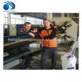 Conduit électrique en plastique de PE de PVC / extrusion de tuyau de drainage d'approvisionnement en eau faisant la machine