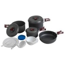Juego de utensilios de cocina de camping al aire libre (CL2C-DT1915-7)
