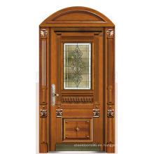 Italia puerta de acero blindada puerta dormitorio proveedor China (D4002)