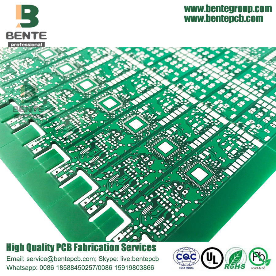 2Layers FR4 Quickturn PCB HASL lead free