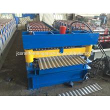 Tipo de máquina formadora de telha e máquina de formação de rolo de metal laminado para uso do telhado