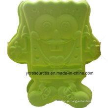Design bonito dos desenhos animados, molde de silicone (ha36017)