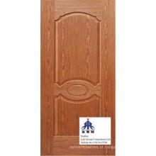 Pele de porta moldada HDF