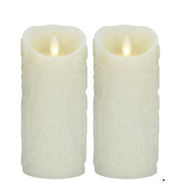 Luminara Battery Operated flameless flicker Candle wholesale