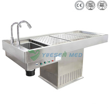 Medical Mortuary Toom Stainless Steel Morgue Table