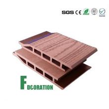 Revestimiento de pared plástico compuesto de madera WPC de la textura compuesta de las ventas calientes