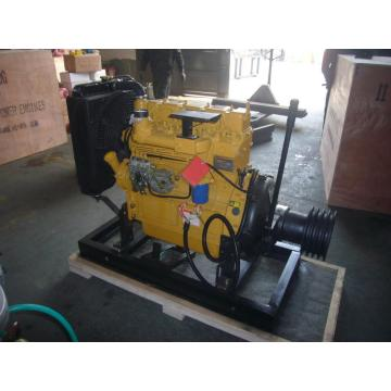 diesel engine with clutch