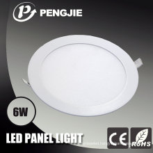 SMD2835 6W LED Panel Light with CE (Round)