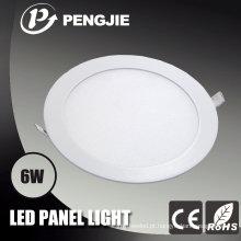 Luz de painel do diodo emissor de luz de SMD2835 6W com CE (redondo)