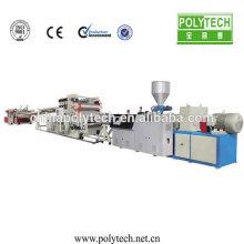 Máquina de extrusión de PVC/PP/PE/PS/PC alta automatización fiabilidad baja potencia plancha plástica