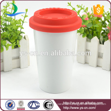 2015 Hot sale ceramic coffee mug with lid