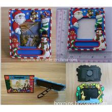Mini Personlized Photo Frames 3D Soft PVC Rubber Photo Frame