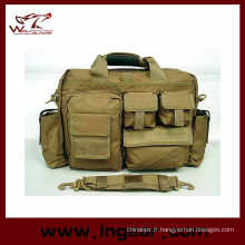Tactique en Nylon main Carring ordinateur portable sac mallette Airsoft