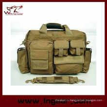 Мешок портфель Airsoft Тактические Нейлон руки Carring ноутбук сумка