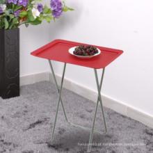 Compoleira Dobrável Design Dobrável Mesa De Frutas Mesa Cor De Mesa Vermelho Azul Branco Mesa Dobrável Plástica
