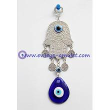 Wholesale Lucky Hamsa Hand Wall Hanging Israel Jewish Home Blessing Evil Eye