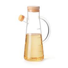 560ml-750ml Top Quality Glass High Borosilcate Glass Oilve Oil Vinegar Bottle Pot