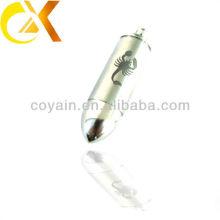 Colgantes de la bala de los hombres de la joyería del acero inoxidable del fabricante 316L