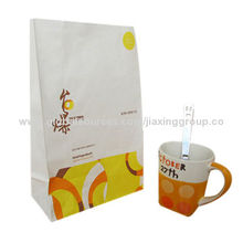 Food Packaging Bag, Made of Plastic Material, Customized Colors Patterns Accepted