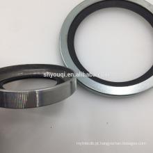 Selos de óleo de aço inoxidável do compressor de ar do parafuso rotativo de 85 * 110 * 12 PTFE