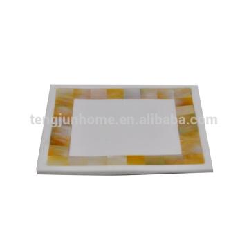 Мать перламутрового мыла блюдо силиконовое мыло блюдо