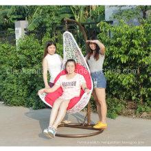 2016 en osier blanc chaise suspendue en osier Swing (CF1431H)