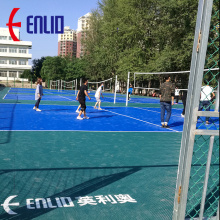 Baloncesto al por mayor Modular Snap-together Sport Floor Tile