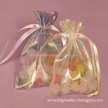 Iridescent Fabric Bag (AM-OB034)