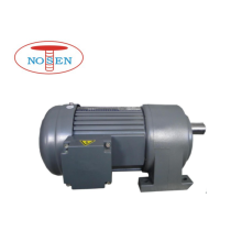 Foot mounted 1500W gear motor with low speed