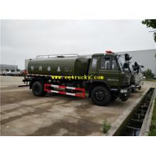 Camions de pulvérisation d'eau propre de 11m3 DFAC