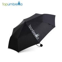 sonnig und regnerisch Manuell Öffnen und Schließen Stock Taschenschirm