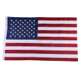 custom polyester printing big size american national flag