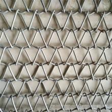 Усовершенствованная Конструкция нержавеющей стали 304l ячеистой сети конвейерной ленты