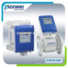Medidor de fluxo eletromagnético krohne