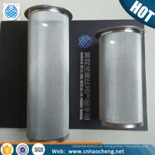 Filtro de chá de garrafa de 150 mícrons micro sacos de chá de filtro de malha