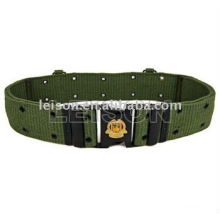 Cinto militar com ISO e SGS algodão ou Nylon material padrão
