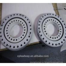 Rodamiento de anillo giratorio galvanizado aplicado para grúa de cubierta
