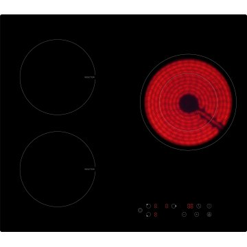 Built-in Combined 3 burners induction cooker mix ceramic cooker Model SM-HF01