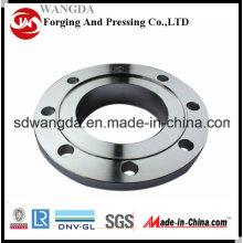 Bride en acier au carbone / Bride forgée / ASME B16.5 / ASME B16.47 / DIN2576 / DIN2633 / JIS / GOST12820 / En1092