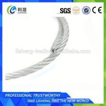 Ss316 7 * 19 * 8 en acier inoxydable Tie Wire