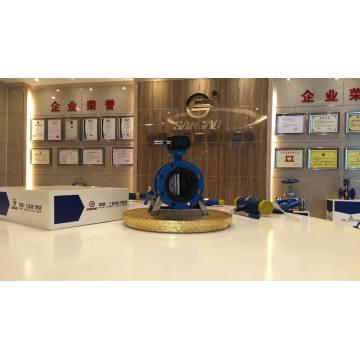 Válvula de borboleta do controle de fluxo da válvula de água do atuador elétrico do vapor tipo do lug do api 610
