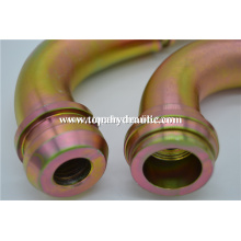 22692 seamless fitting  pipe chrome grease brass fitting